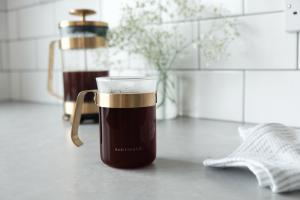 Midnight Gold Cup Coffee