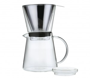 Kaffekande m/ filter. Coffee Drip (Z045000)